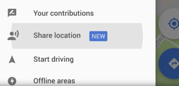 google maps will now allow users to share their real time location to any of