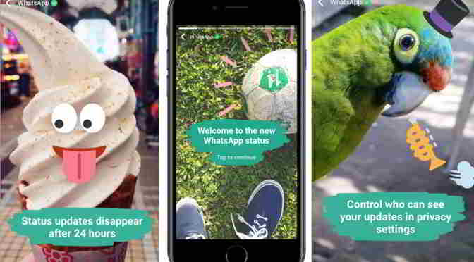 WhatsApp's Status feature now has 175 million daily active users than Snapchat