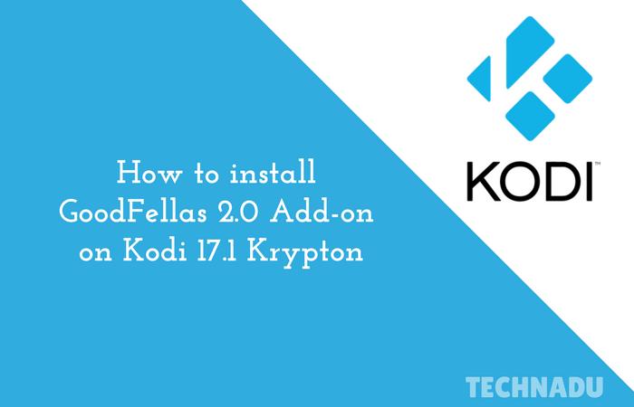 how to add addons on kodi 17.1