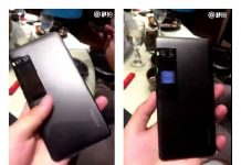 Meizu Pro 7 has a secondary display screen on the back