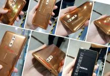 Nokia 8 handset might come with Gold, Blue, and Silver color