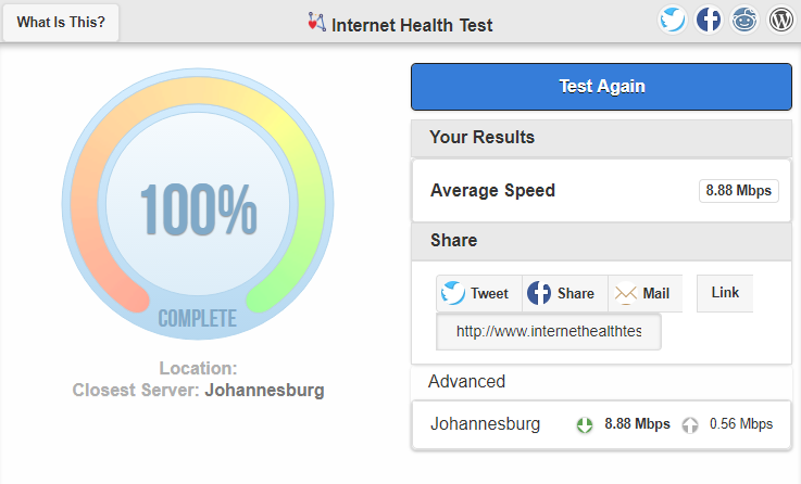 Test Your Connection for Throttling