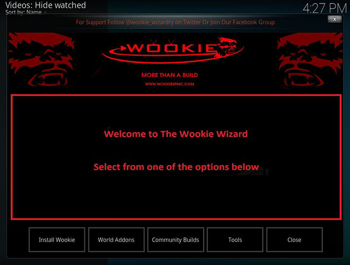 Wookie Kodi Build - 4