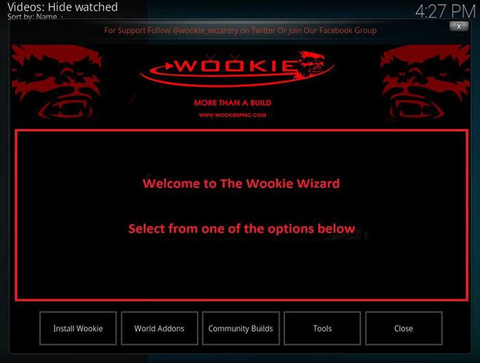 Wookie Kodi Build - 9