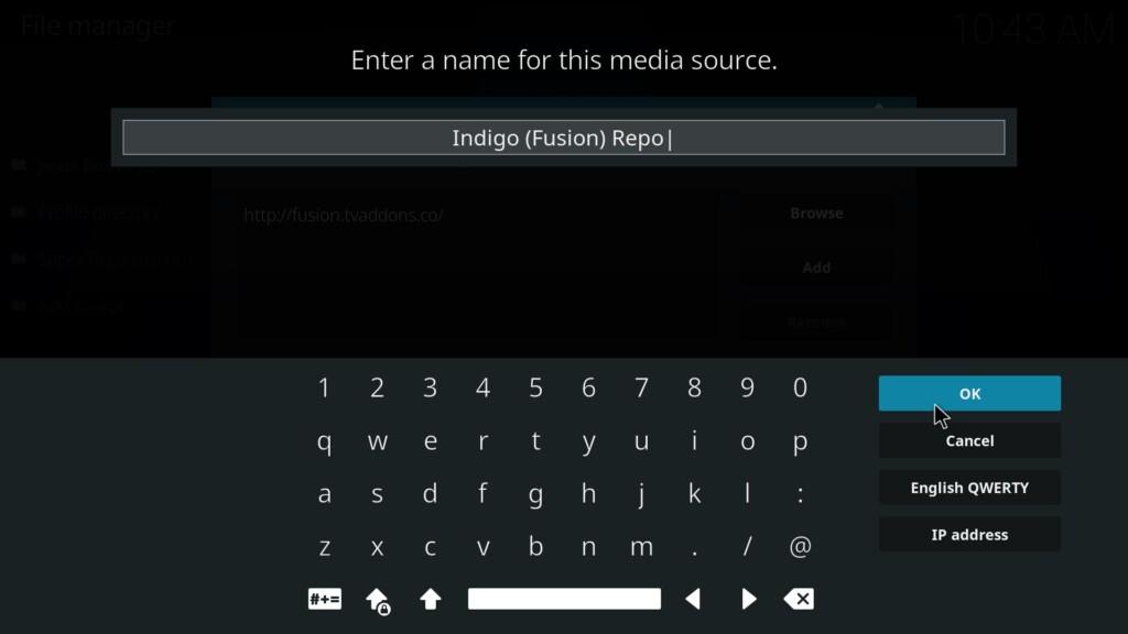 Kodi Installation - Screenshot