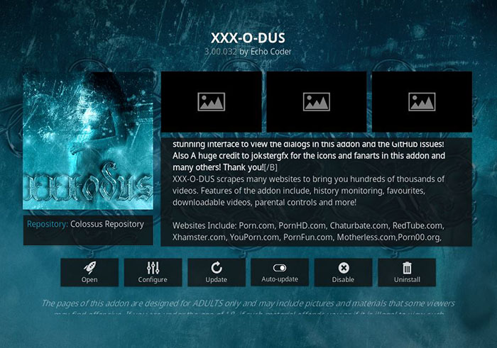 Best Adults Addons for Kodi 2017: Updated & Fully Working