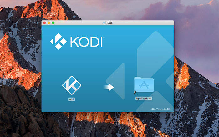 Install Kodi for Mac - Install 5