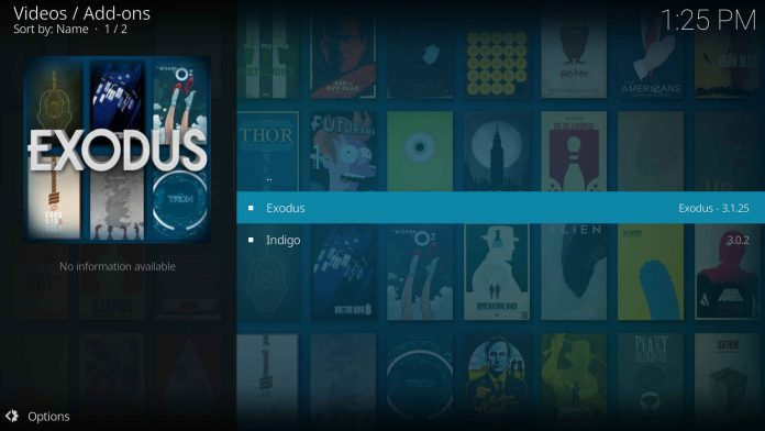Install Kodi on Apple tv - Exodus
