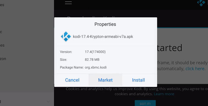 how to download kodi with es file explorer