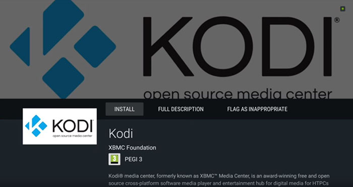 Kodi on Nvidia Shield TV -Install 3
