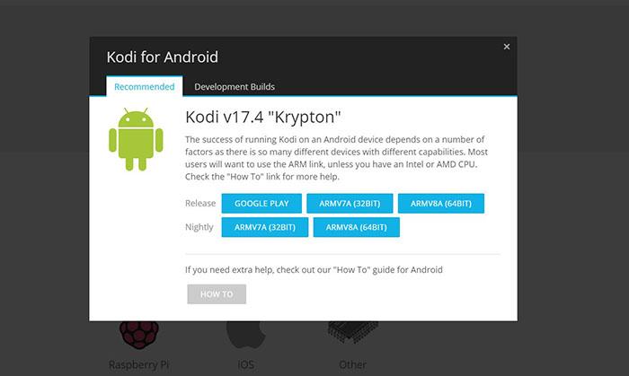 Kodi on Razer Forge TV - Kodi Android