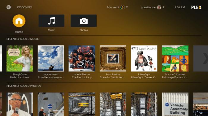 Plex Kodi Addon -Plex app 1