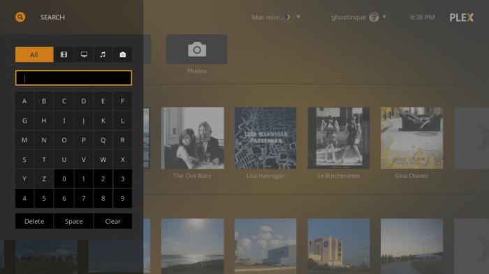 Plex Kodi Addon -Plex app 2
