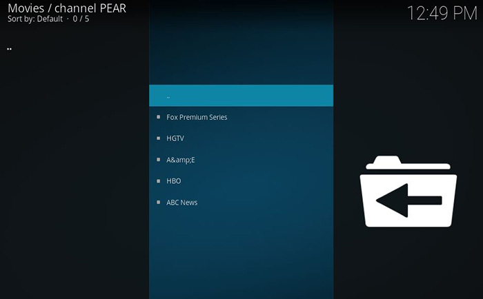 12 Steps to Install Channel PEAR Kodi Addon in 2019 (with