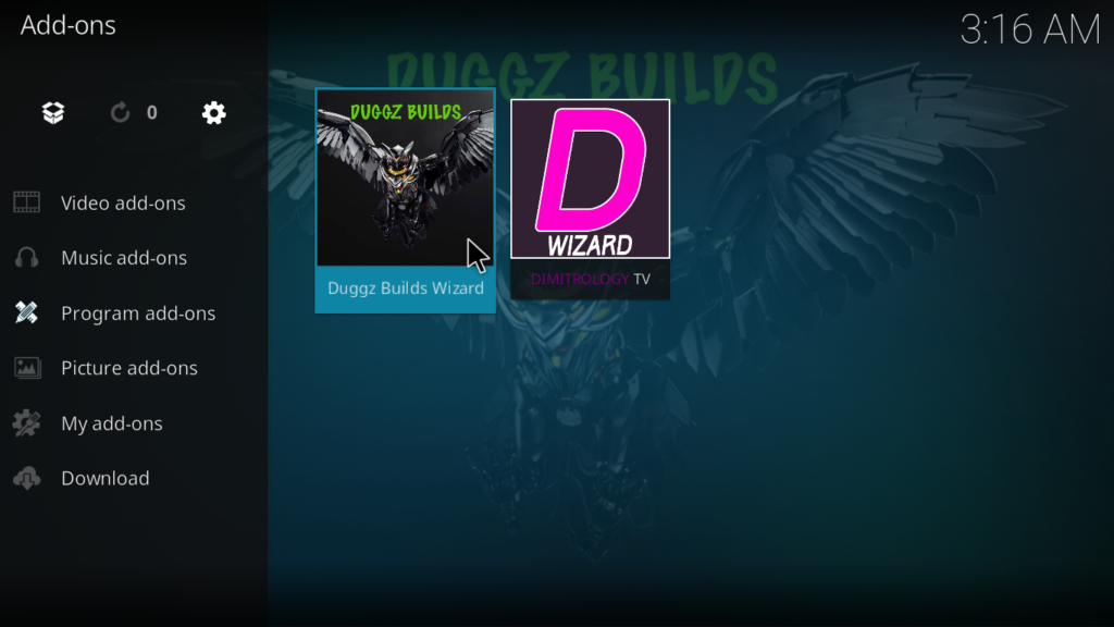 Duggz Kodi Build