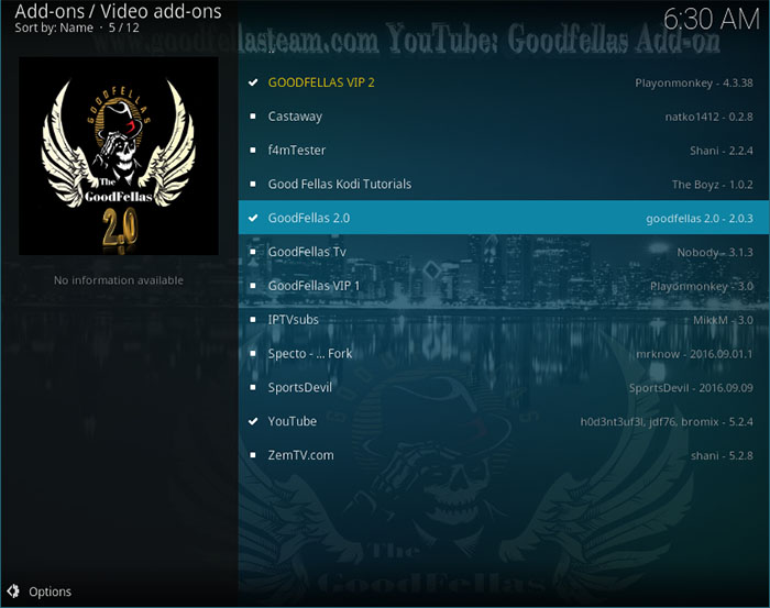 GoodFellas Kodi Addon - How To Install & Use? | TechNadu