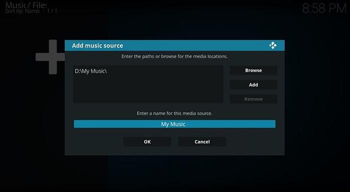 How to Add Music to Kodi