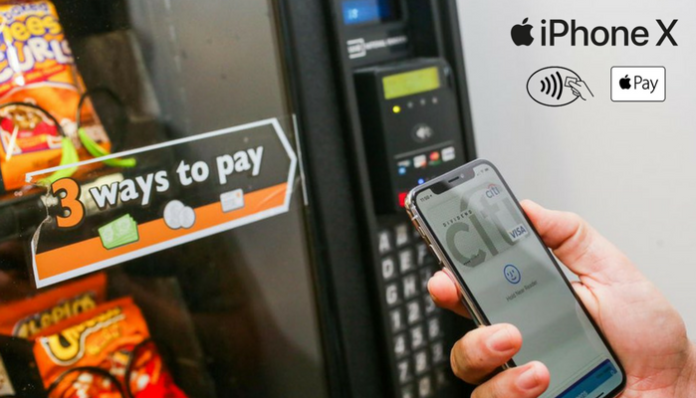 quality design 611cd 3c098 How to Use Apple Pay on iPhone X - TechNadu
