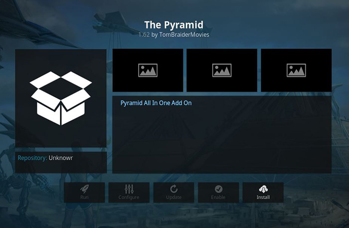The Pyramid Kodi Addon