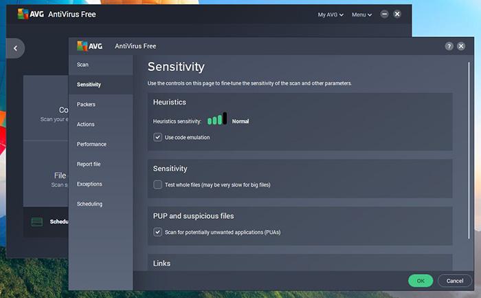 AVG Antivirus Free - Features