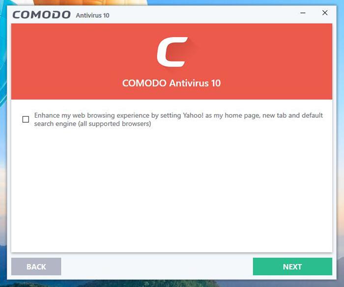 Comodo Installation