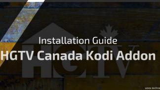 HGTV Canada Kodi Addon