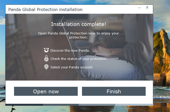 Panda Global Protection Antivirus Installation 4
