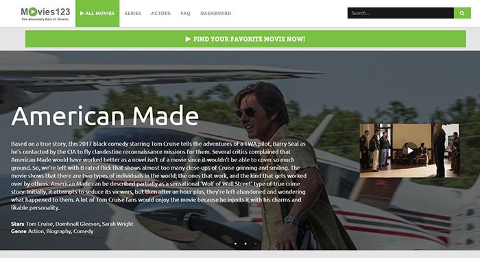Movies123 (movies123.top) - Free Movie Streaming Sites