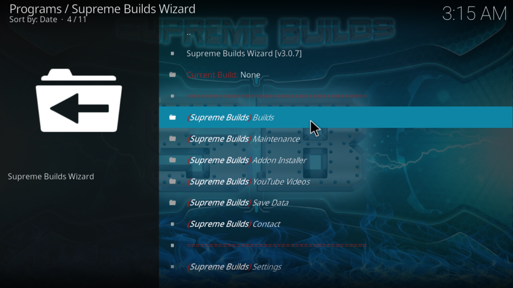 Titanium Kodi Build