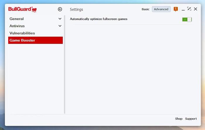 Game Booster Bullguard Antivirus