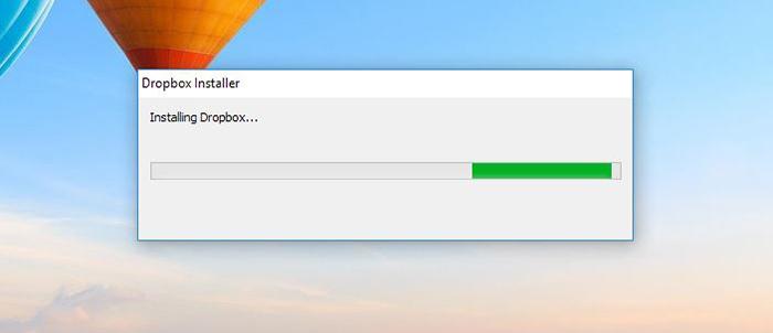 Dropbox Installation Windows