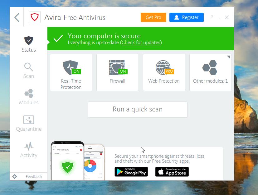 Avira Free Antivirus