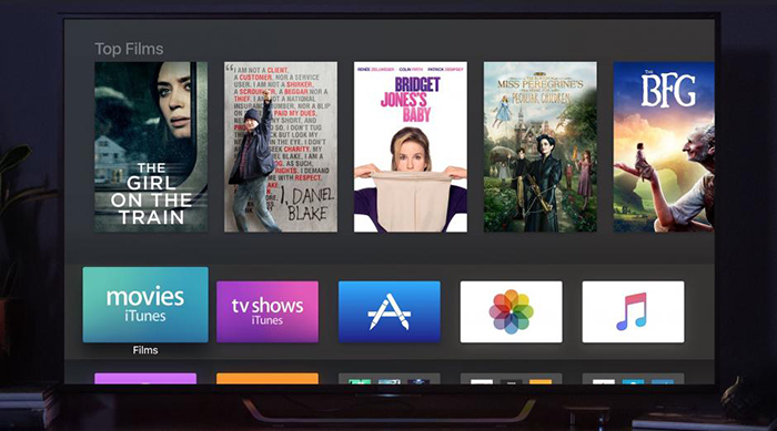 Apple TV 4K Apps Content