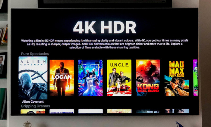 Apple TV 4K Interface