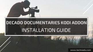Decado Documentaries Kodi Addon-Feature Image