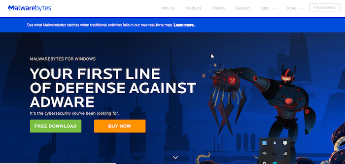 Malwarebytes Free Antivirus Download