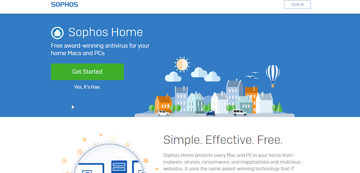 Best Free Antivirus 2018: Sophos Home Antivirus Download