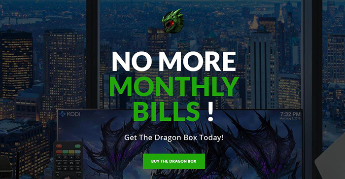 Dragon Box Website Ad