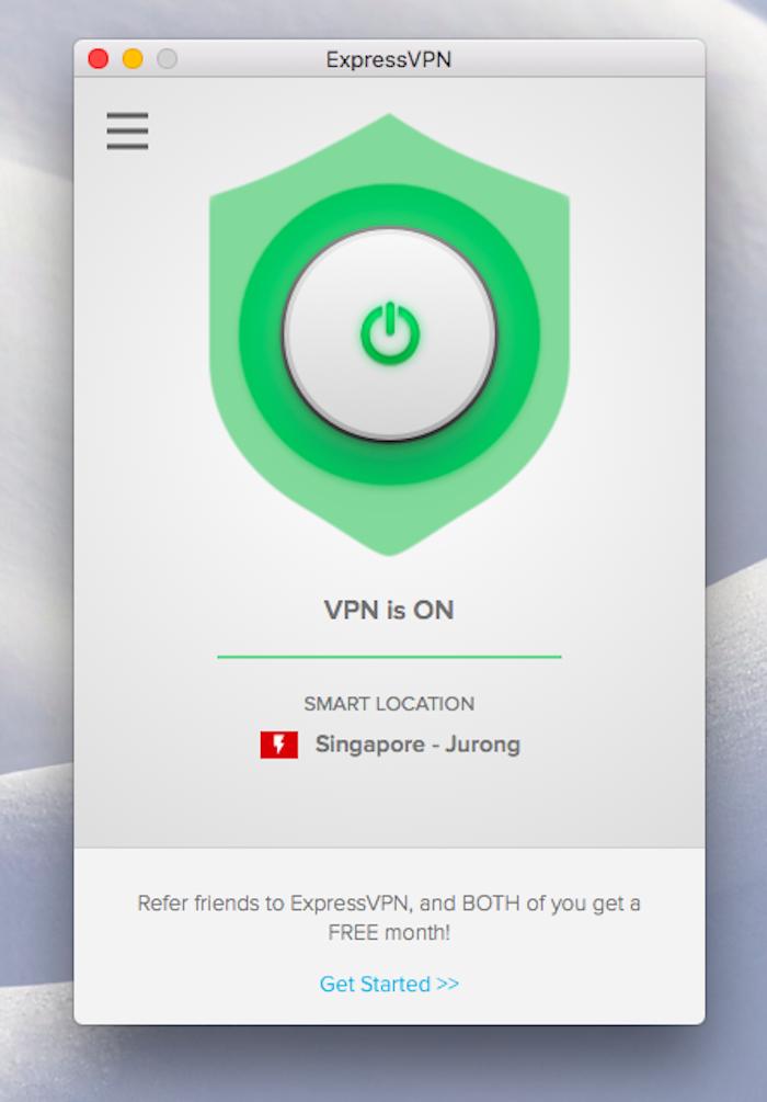 how to change vpn location expressvpn