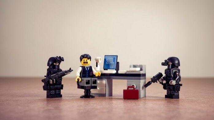 FBI Bust in LEGO