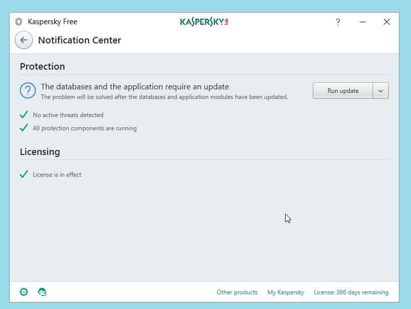 Kaspersky Free Antivirus Details