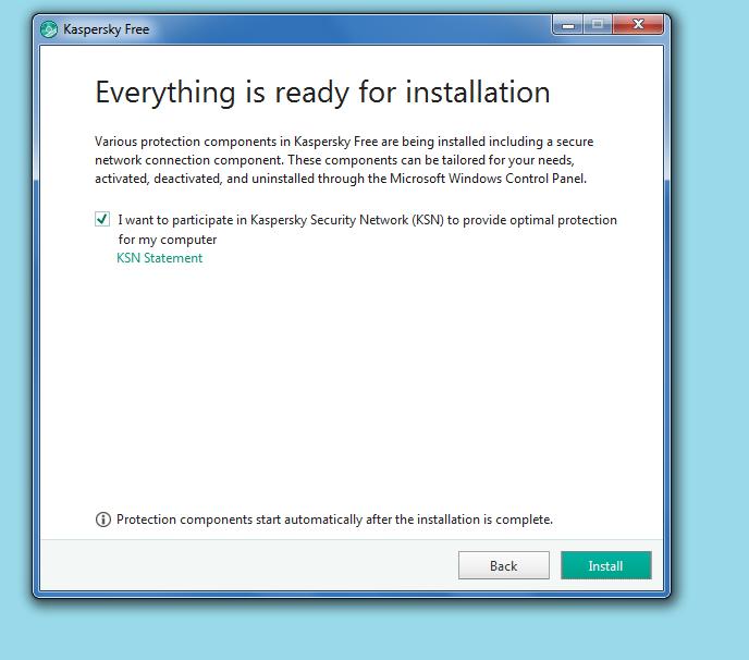 Kaspersky Free Antivirus Installer
