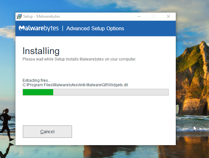 malwarebytes scan settings