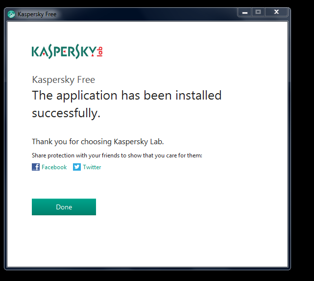 Kaspersky Free Antivirus Install