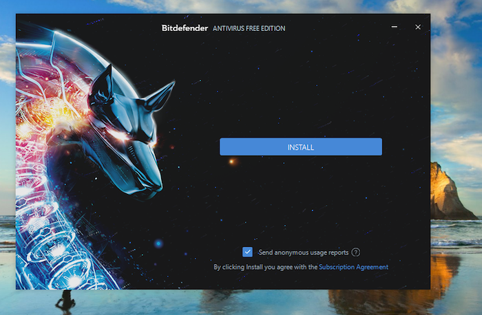 Bitdefender Free Antivirus Installation