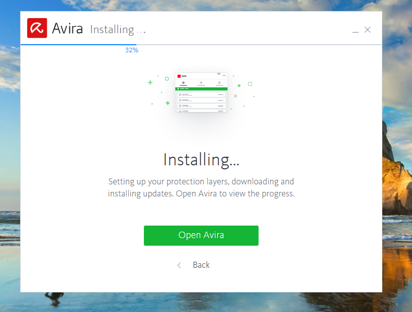Avira Free Antivirus Installation