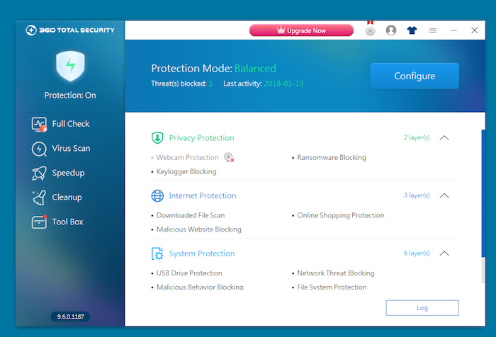 360 total security free antivirus for windows 10