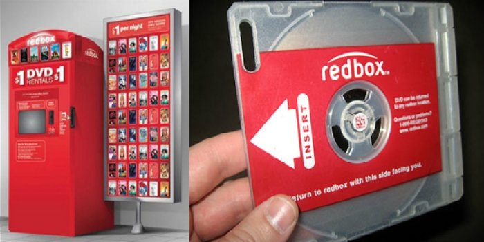 Redbox Disney DVD