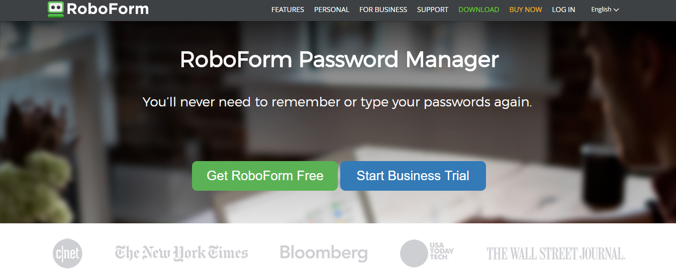 Roboform Best Password Managers 2018