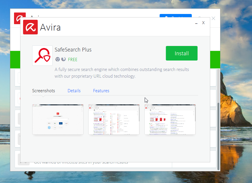 Avira SafeSearch